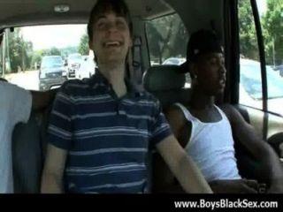 Sexy negro gay chicos fuck blanco jóvenes dudes hardcore 12