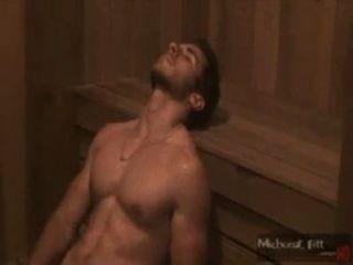 Gato sensualizando en la sauna.[Sem nudez]