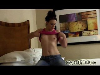 jerk your hard dick para cheyenne joy