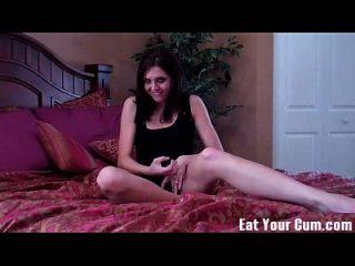 golpear su carne y comer su propio cum cei