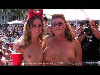 Tits of all sizes fantasy fest key west florida tmb