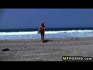 rubia playa babe dildos ella misma en el sol adriana sephora 1