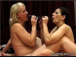 cachonda lesbianas milfs follar en la cámara