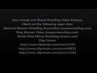 nueva lucha femenina y lucha de lucha libre volumen de lanzamiento de vídeo 7