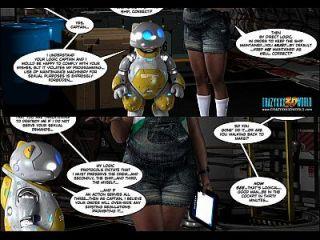 3D cómico: liberación de la fuerza de combate. episodios 1 2