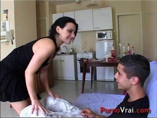 creampie accidental francés casting amateur