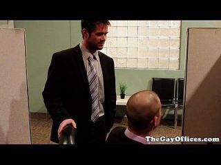 gay hunk oficina perforada hasta que cum