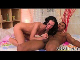 agarrar el martilleo anal
