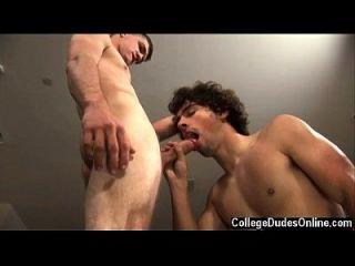 clip gay de glenn realmente disfruta de conseguir aplastado como un perro y él