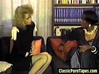 lesbianas interraciales calientes de los ochenta