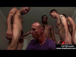 bukkake gay chicos desagradable a pelo negro corridas faciales 17
