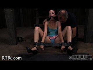 tormentoso caning para lujuriosa playgirl