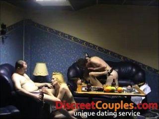 fiesta casada del sexo de los swingers