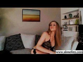 juguetes sexuales del sexo del amor de la muchacha solamente caliente para el clip 16 de la masturbación