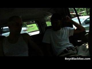 los twinks atractivos blancos golpearon a mis hombres negros gay 07