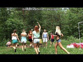 putas de colegio asqueroso a su vez una fiesta al aire libre en la escena salvaje fest fuck 3