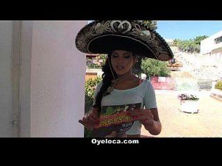 oyeloca hot latina follada durante una fiesta de cinco de mayo!