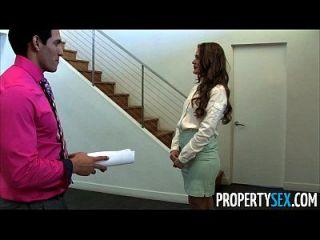 propertysex abby cross es un agente de bienes raíces sucio maldito cliente