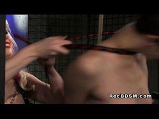 vibrador de sujeción con cremallera con cordones