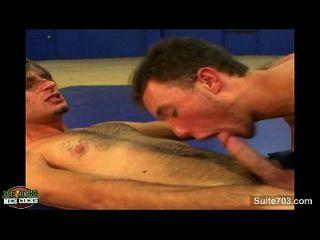 sexy jocks gay jodido en el gimnasio