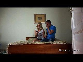 novia rusa obtiene follada anal pov hecho en casa