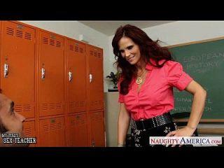 redhead sexo profesor syren de mer follando en el aula