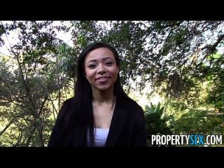 propertysex hot black agente de bienes raíces engañado en puta
