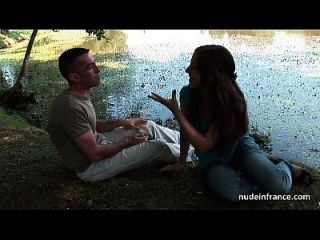 joven libertina francesa anal golpeada por su novio para un casting aficionado