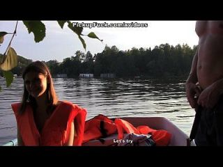tres hombres en un barco (por no hablar de una chica de recogida) escena 3