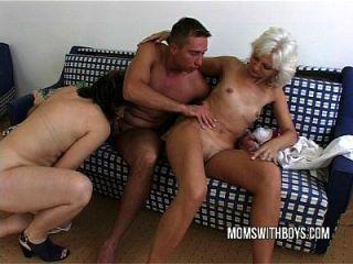 caliente madura señoras hardcore anal con stud joven