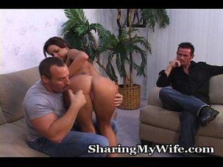 esposo y esposa cum para una sorpresa