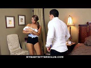 mybabysittersclub sneaky babysitter jodido duro
