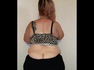 Sra. londres gran culo gordo