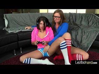 lesbianas hacer amor escena de sexo en la película de la cámara 11