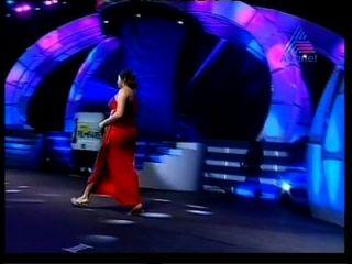 indiana acctress namitha gran burbuja enorme butt culo en un traje apretado