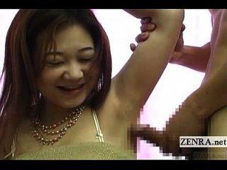 subtítulos masturbación japonesa bizarra cfnm vía axila