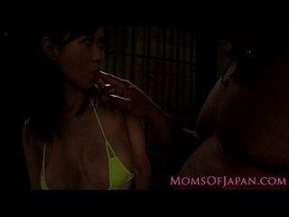 milf japonesa mierda interracial