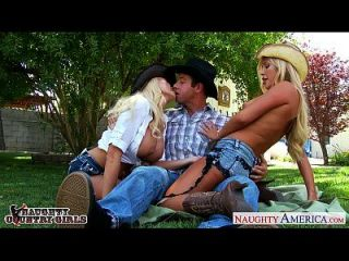 sexy country brielle verano y tasha reinado compartiendo gallo