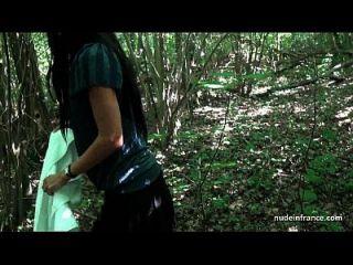 georgous amateur exhib milf obtiene rendez vous en un bosque antes de sexo anal en casa