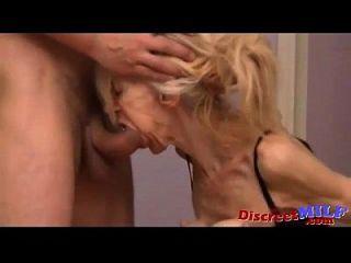 arrugada y flaca abuela obtener follada