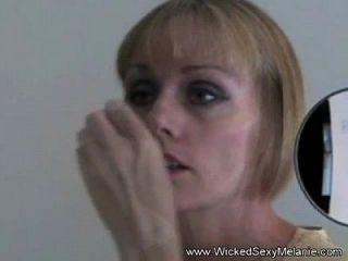 esposa amateur nerviosa abusada