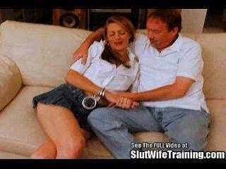 blonde used wife quiere ser porno dvd star!