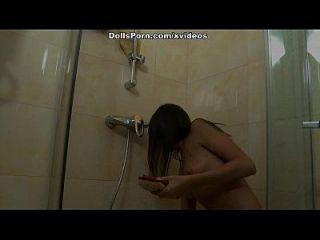 sexo anal duro después de la escena de la ducha 1