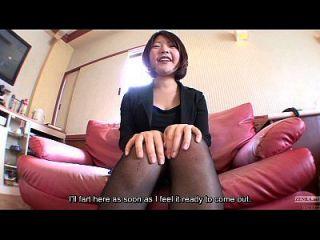 farting japonés aficionado con gran culo Inglés subtítulos hd