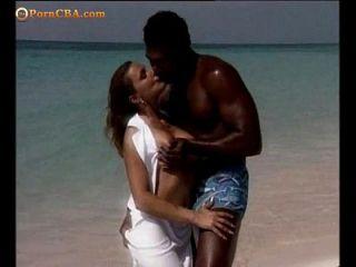 joder romántico en la playa