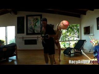 estirar clase # 03 ashley incendios, jada stevens, roxy raye