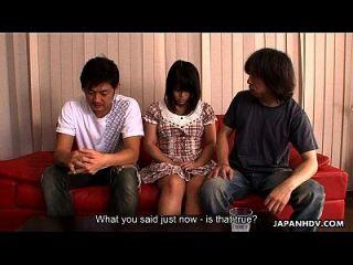 slutty asiático siendo castigado con orgasmos múltiples
