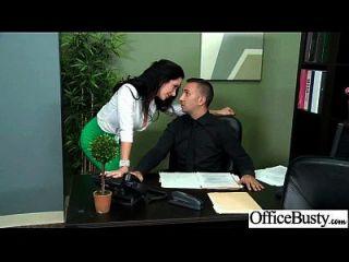 oficina de sexo femenino tetona sexo duro en la película de oficina 14