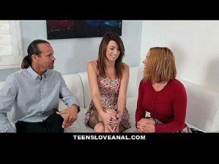 teensloveanal enseñando a mi hijastra anal sexo anal