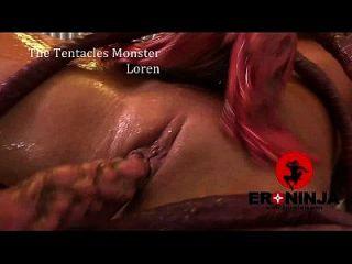 los tentáculos monstruo loren minaldi
